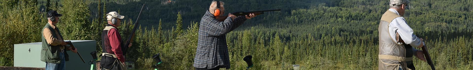Trap Shooting Header